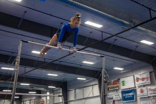 O'Gorman gymnast Ava Manning
