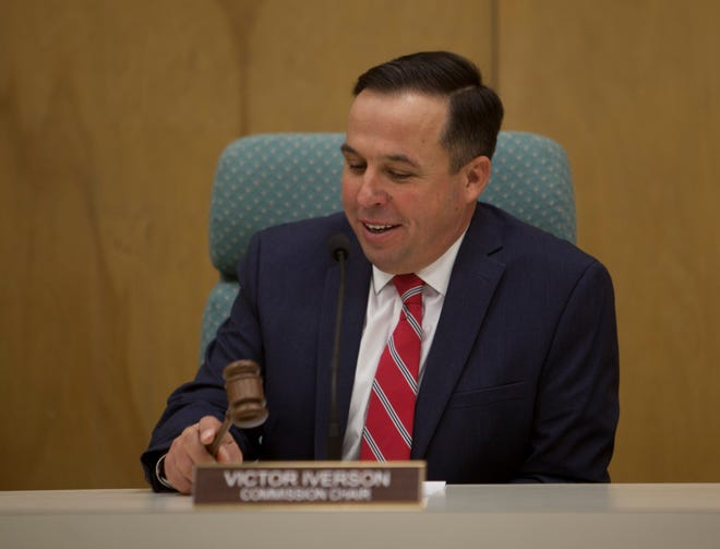 County Commissioner Victor Iverson Wednesday, Feb. 5, 2020.