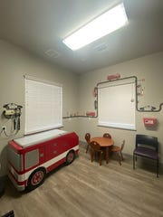 One of the pediatric care rooms at the Creek Valley Health Clinic in Colorado City, AZ.