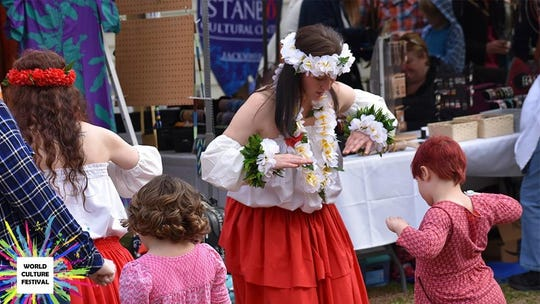 Dance demonstrations at the World Culture Festival, which will be Saturday at Good Samaritan United Methodist Church.