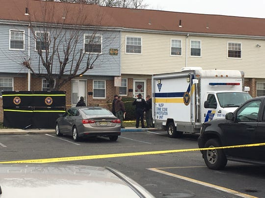 Police are investigating the deaths of four people, including two children, at Penns Grove Gardens apartments in southern New Jersey on Wednesday, Feb. 5.