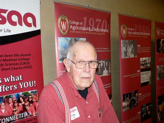 John Dopp of Almond graduated from the Short Course in 1949.