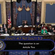 President Donald Trump is acquitted of all impeachment articles in final 47-53 vote.
