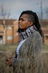 Crystal Turner poses for a portrait on Tuesday, January 14, 2020 at Southside Settlement Heritage Park in Columbus, Ohio.