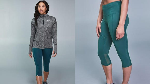Running in the cold requires longer pants and pockets.