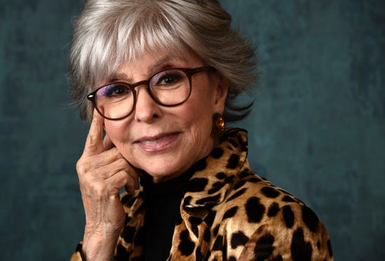 "Actress and singer Rita Moreno won her Oscar for best actress for ""West Side Story,"" a Grammy for ""The Electric Company,"" a Tony for ""The Ritz"" and two Emmys."