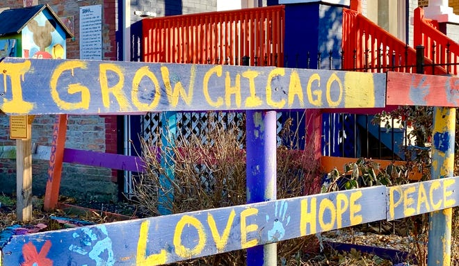 The I Grow Chicago Peace Campus in Englewood, Chicago on Nov. 22, 2019.