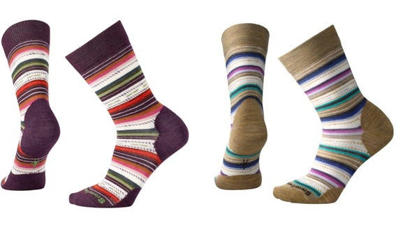 Some of the warmest socks on the market.