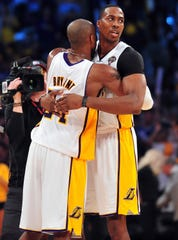 Lakers' Dwight Howard laments not telling Kobe Bryant how much he appreciated him