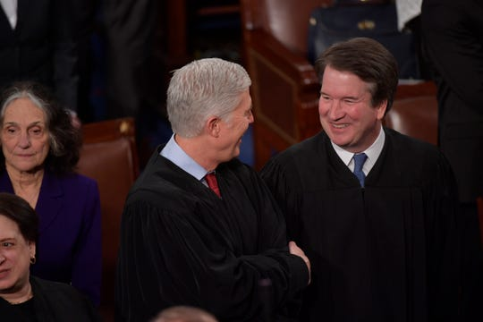 President Trump's two Supreme Court nominees, Associate Justices Neil Gorsuch and Brett Kavanaugh, have played major roles in making the high court difficult to pin down ideologically.