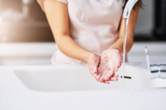 To be safe – and since you might have been handling chemicals – wash your hands one more time once you're finished.