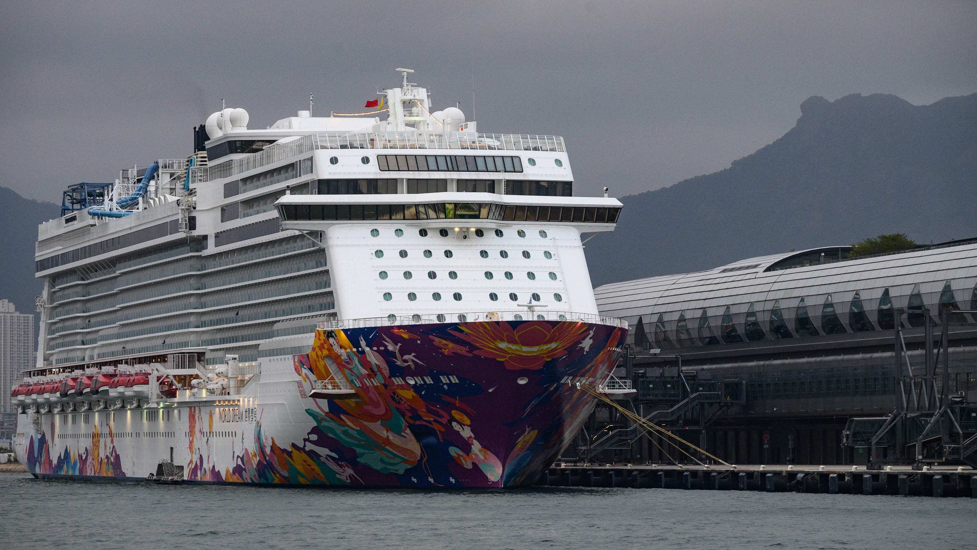 Coronavirus Dream Cruises Passengers Tested After 3 Confirmed Cases
