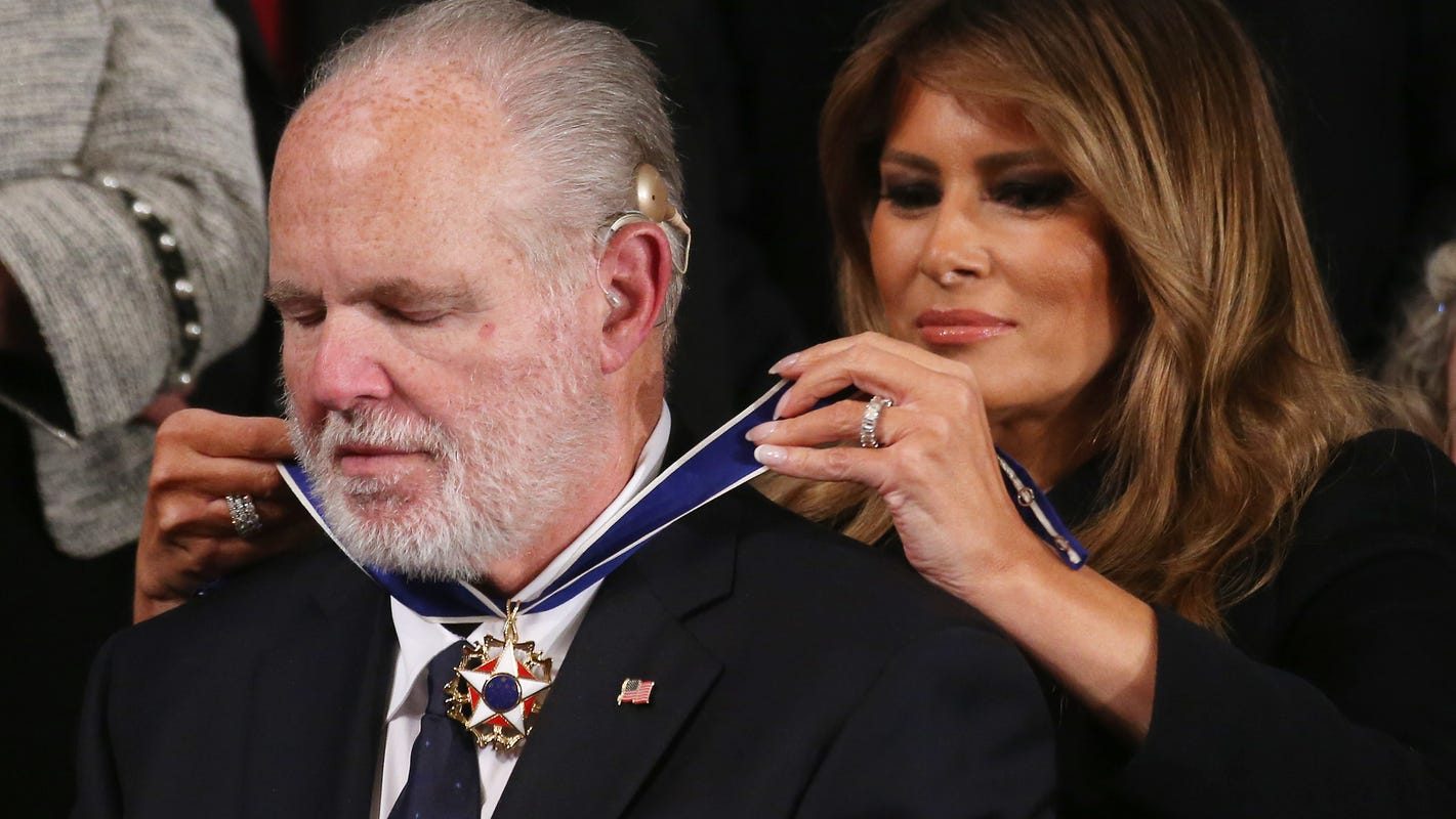 Medal of Freedom: What is it and why did Trump award it to Rush Limbaugh during State of the Union?