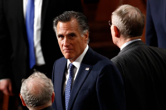 Republican Sen. Mitt Romney announced Tuesday that the Republican caucus has organized three task forces to respond to the economic impacts of coronavirus