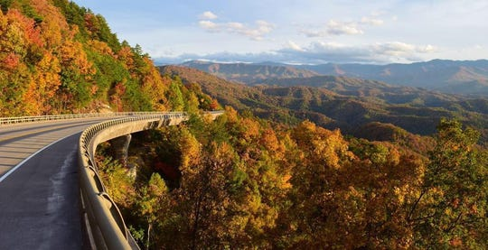The opening at the end of 2018 of a 16-mile section of the Foothills Parkway on the Tennessee side of the Great Smokies helped contribute to a record-high visitation in 2019.