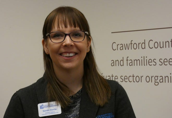 Sarah Herrle is the marketing and project ccordinator for the Crawford Partnership for Education and Economic Development.