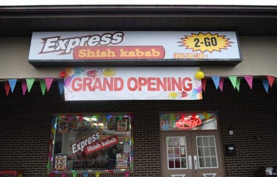 Exterior of Express Shish Kabab in Pennsauken.