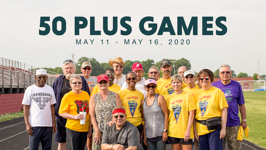 Adults 50 and up can register now through May 4 for Clarksville Parks & Recreation's 50 Plus Games.