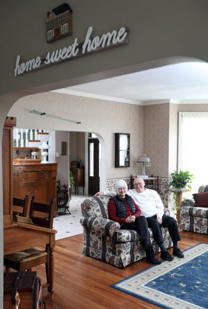 Bill and Sharon Schoener opened Medbery Manor Bed & Breakfast in Rosco Village in 2001.