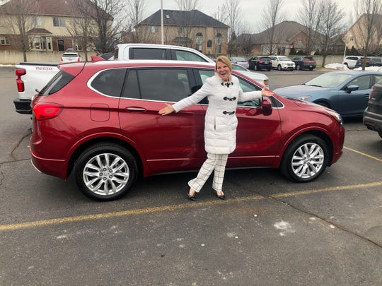 Anna Zajdel, a medical group office manager from Washington Township , turned in a 2017 Cadillac XT5 for a 2020 Buick Envision in January. She spent hours at a car dealership only to finally call car concierge Brian Carroll to rescue her.
