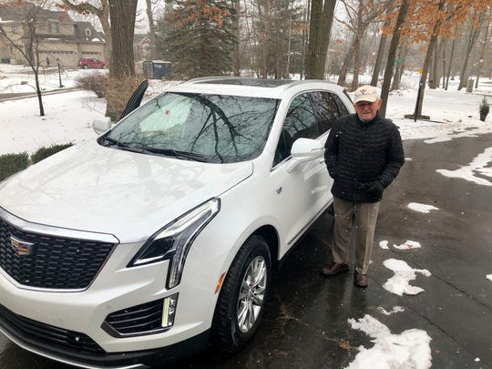 John Eschrich of Troy leased a 2020 Cadillac XT5 from car concierge Brian Carroll in January 2020 after always shopping at car dealerships. He wanted a luxury SUV.