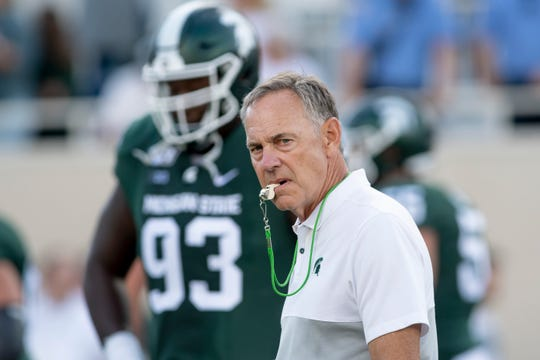Michigan State has yet to interview candidates to replace head coach Mark Dantonio, who retired Tuesday.