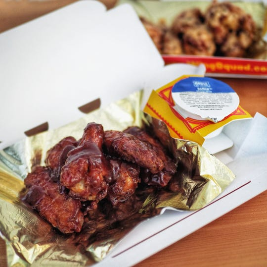 Wing Squad can be ordered via restaurant deliver apps.