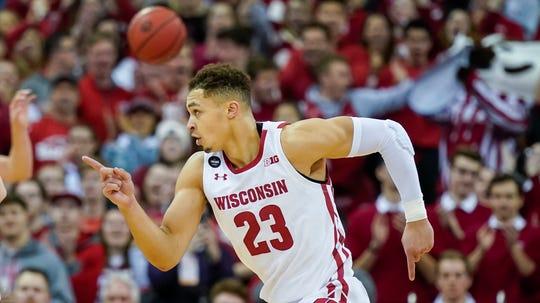 Wisconsin's Kobe King announced last week he was leaving the university.