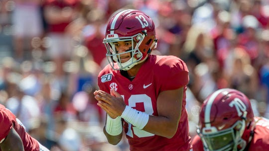 Several NFL teams could be clamoring to move up in the NFL Draft to select Alabama quarterback Tua Tagovailoa.