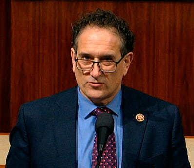 Rep. Andy Levin, D-Mich., speaks at the Capitol in Washington in this file photo from Dec. 18, 2019.
