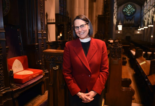Bishop Bonnie Perry is the first woman and the first gay priest to lead the Episcopal Diocese of Michigan.