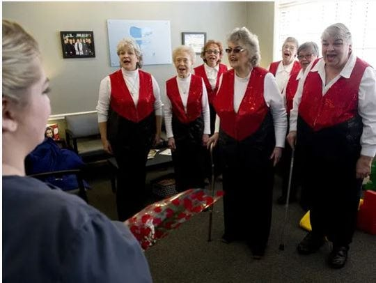 The Spirit of Evansville Sweet Adeline Chorus