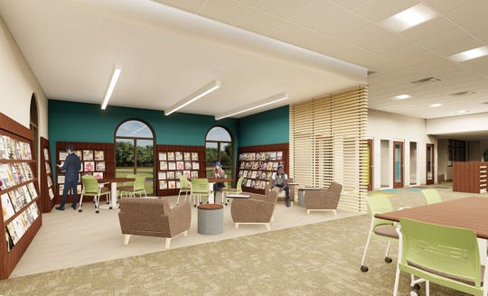 Birchard Public Library Director Pam Hoesman said the Birchard Library Association Foundation has raised $35,000 in sponsorships for the new library addition's group study room, small meeting room, storytime nooks and children's sensory room.  She said in December it will take an estimated 12 months to complete construction on the library's addition.