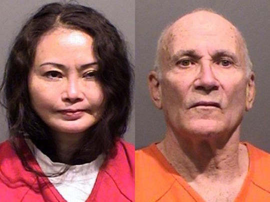 Jingwen Liao  and Timothy Vronay have been arrested  by Fort Collins Police Services on suspicion of pimping, organized crime and money laundering.