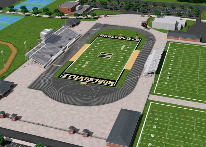 Noblesville announces plans for a new stadium.