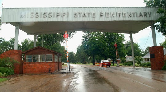 This is a 2002 file photo of the entrance to the Mississippi State Penitentiary at Parchman, Miss.
