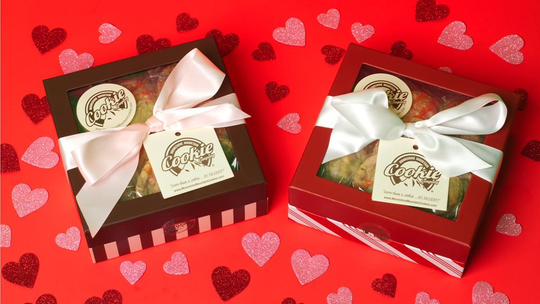 If you are looking for sweets for your sweet, look no further than Moonshine Mountain Cookie Company – voted best cookies in Tennessee last year by the Daily Meal. Stop in at either of their two Kingston Pike locations to pick up a decorated box. Locations and hours at moonshinemountaincookies.com or call 865-240-4972.