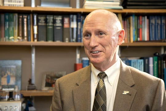 John Sheffield, a professor of engineering technology in Purdue's Polytechnic Institute, is part of a delegation that will receive private audience with Pope Francis to discuss hydrogen as a sustainable energy in the face of climate change.