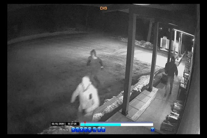 Surveillance footage shows three suspects who broke into the Unadilla Store in Unadilla Township early Saturday morning. Police say they attempted to break into an ATM.