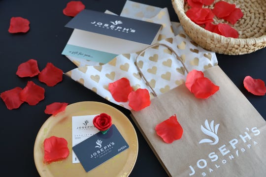 You can't go wrong with a Valentines Day gift card from Joseph's Salon and Spa