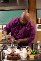 "Memphis chocolatier Phillip Ashley Rix, as seen on Season 1 of Food Network's ""Chopped Sweets."""