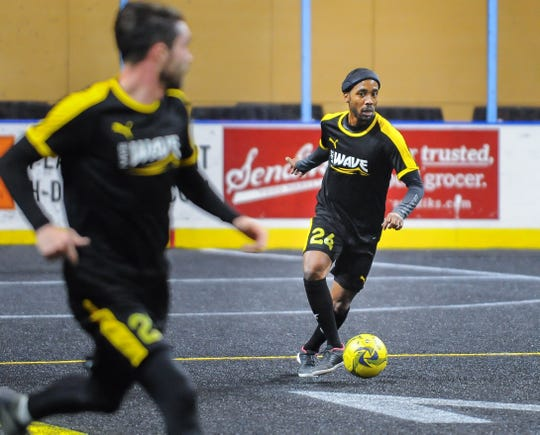 Forward Max Ferdinand led the MASL in assists two seasons and is among the leaders again this year.