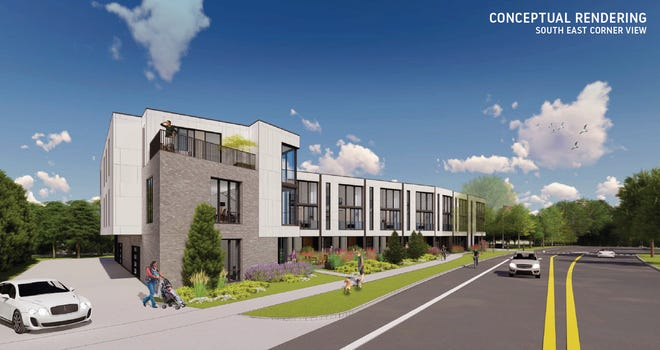 A developer has proposed a 10-unit townhome development at the site of the North Shore American Legion Post, 4121 N. Wilson Drive, Shorewood.