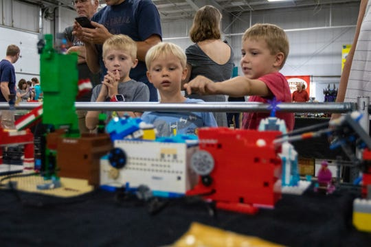 Lego builders will be displaying their creations at Brickworld Milwaukee at Wisconsin State Fair Park on April 18 and 19.