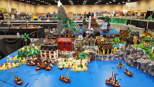 Lego User Groups travel to Brickworld events to display their creations.