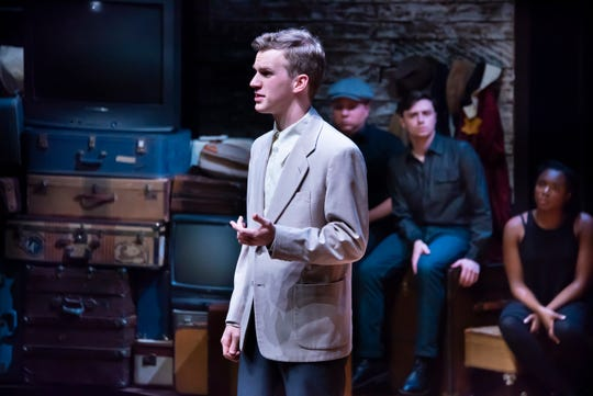 "Matthew Zimmerman in a scene from ""And Then They Came For Me: Remembering the World of Anne Frank,"" at Alabama Shakespeare Festival."