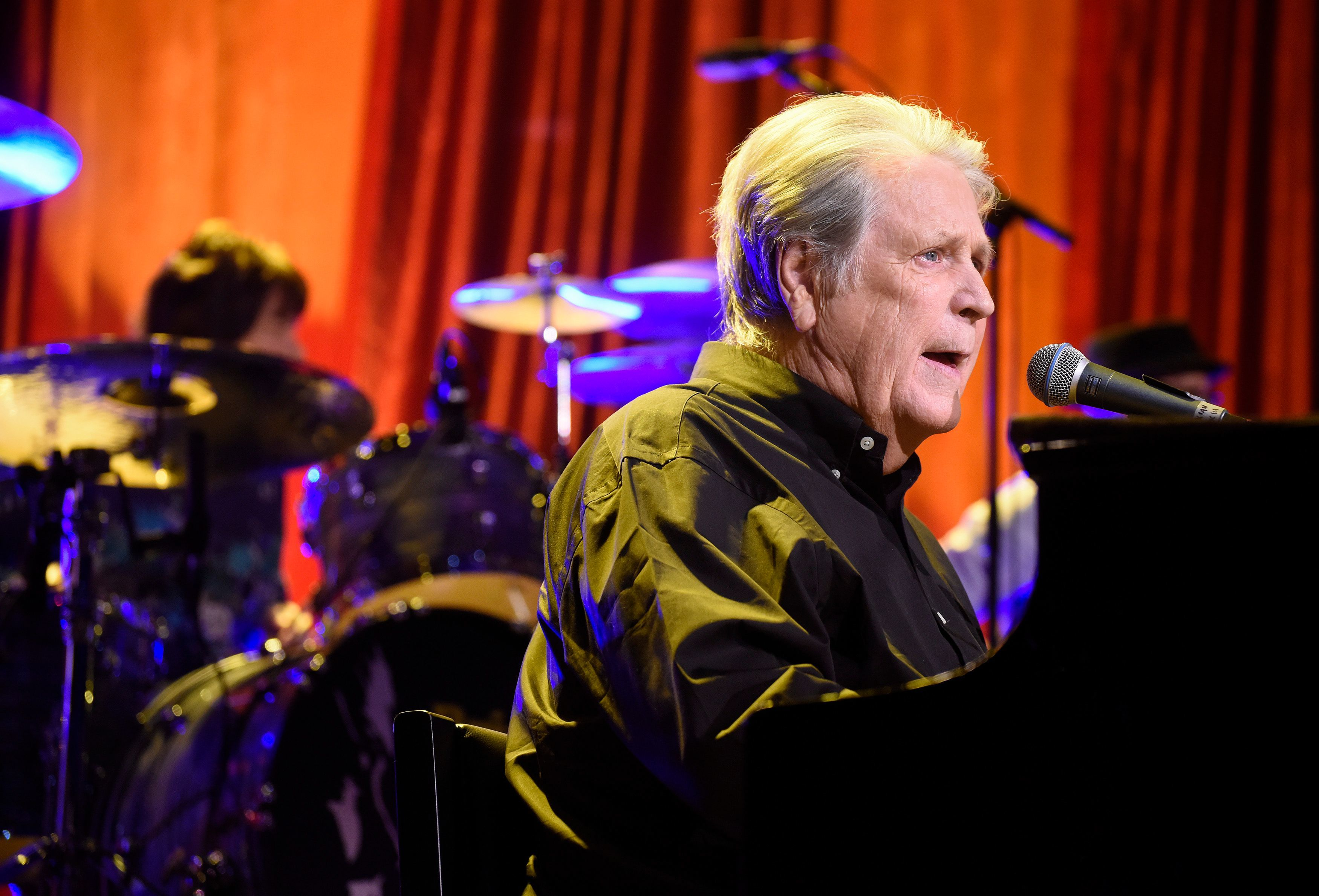 The Beach Boys' Brian Wilson plays the Ryman Auditorium in Nashville on Sept. 16, 2016.