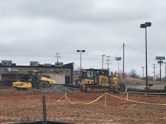 Work is underway on a new Firestone in White House.