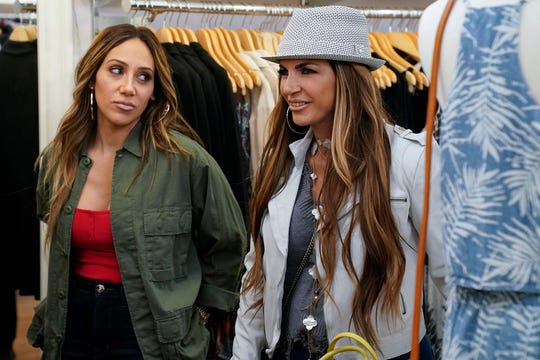 Melissa Gorga and Teresa Giudice.