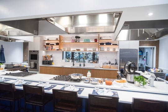 The Kitchen is located at Bed Bath & Beyond in East Hanover. The space was made to host cooking classes.
